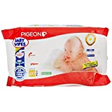 Pigeon Baby Wipes Chamomile, 4 Packs (80 Sheets Per Pack)