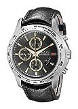 Gucci Men's YA126237 Gucci timeless Black Diamond Pattern Dial Watch