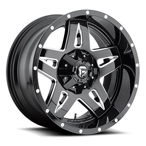 Fuel Full Blown 20 Black Wheel / Rim 6×135 & 6×5.5 with a -24mm Offset and a 106.4 Hub Bore. Partnumber D55420009845
