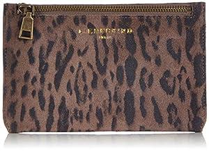 Liebeskind Berlin Gunilla Suede Lux Wallet,Taupe,One Size