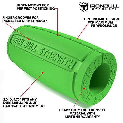Iron Bull Dumbbell Barbell Grip Pad Bench Press Bar Weight