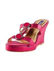 Femme Women's Wedge Slippers