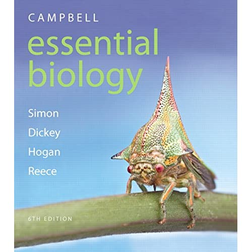 Campbell Essential Biology + Masteringbiology With Etext Simon, Eric J./ Dickey,
