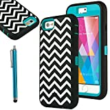 IPhone 6 Case - ULAK Shockproof Hybrid Triple Layer Armor Full Body Protective Case Cover (Hard Plastic With Soft...