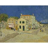 Tallenge - Vincent Van Gogh - The Yellow House (The Street) - Xlarge Size Unframed Rolled Digital Art Print On...
