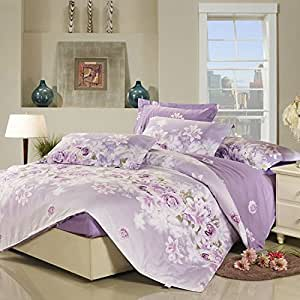 King Size Quilt Sets Purple