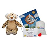 """Make Your Own Stuffed Animal """"Spots The Leopard"""" - No Sew - Kit With Cute Backpack!"""