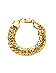 18KT GOLD AND RODUIM COATED BRACELET AT SPECIAL DISCOUNT