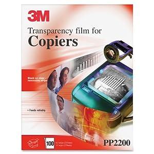 3M PP2200 Plain Paper Copier Transparency Film