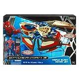 Spider-Man Battle Action Triple Blast Hover Jet