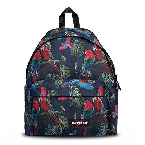 Eastpak Authentic Padded Pak'R - Sac à dos style casual, Multicolore (Parrots)