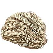 Magideal 50M Natural DIY Braided Cotton Rope Cord String Dress Craft Wedding Decor