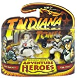 GRAIL KNIGHT & COL. VOGEL * Indiana Jones Adventure Heroes * Indiana Jones and the Last Crusade 2 Pack