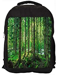 """Snoogg Tall Tress With No Leaves Casual Laptop Backpak Fits All 15 - 15.6"""" Inch Laptops"""