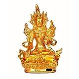 Stonkraft Feng Shui Products - Best Quality Metal Jambhala Buddha Kubera God Of Wealth Statue Figurine Murti For...