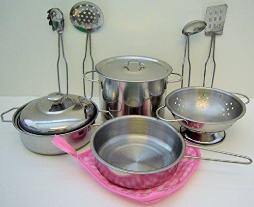 Playset Metal Pots and Pans
