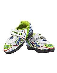 "American Club ""Roaring Green Sunshine SuperCar"" Half-ankle Kids' Sneakers - B01A0XNWII"