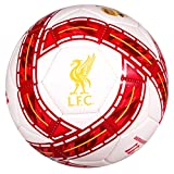 Liverpool FC Warrior Training Graphic Soccer Ball White
