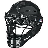 Wilson Prestige Catcher's Helmet, Black, Large/X-Large, Large/X-Large/Black