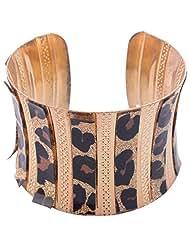 Dimension Egyptian Style Jewellery Golden Black Bangle Non-Precious Metal Bangle For Women