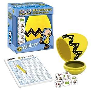 Click to buy Peanuts 60th Anniversary Yahtzee from Amazon!
