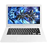 2017 Premium High Performance Asus 13.3-inch Chromebook Intel Celeron Dual-Core Processor 4GB RAM 32GB EMMC Hard...