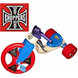 "The Original Big Wheel ""West Coast Chopper"" Trike Limited Edition Ride On With Red Wheels"