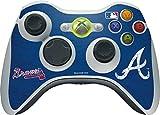 MLB - Atlanta Braves - Atlanta Braves - Solid Distressed - Skin for 1 Microsoft Xbox 360 Wireless Controller