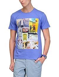 Yepme Men's Graphic Cotton T-shirt - B00O32V3FC