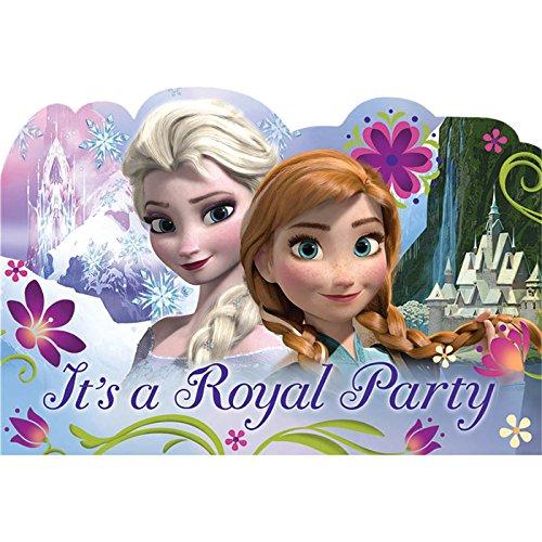 Pretty Pink Girls Princess Birthday Invitations - cover