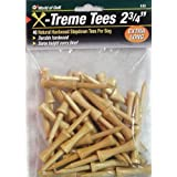 Jef World Of Golf Gifts And Gallery, Inc. 2 3/4-Inch Extreme Step Tee - 35 Pack (Natural)