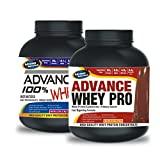 Advance 100% Whey Protein 1kg Chocolate & Advance Whey PRO 20gm Protein Chocolate Flavour Combo Offers