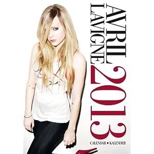 Avril Lavigne 2013 Calendar