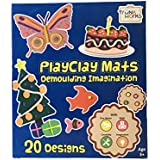 PlayClay Mats - Play With Clay/Play Doh/Play Dough. Develop Fine Motor, Math, Imagination, Creativity. Unique...