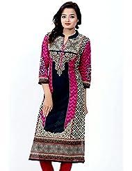 Merry Fashion Women's Cotton Kurta