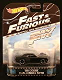 '08 DODGE CHALLENGER SRT8 * FAST & FURIOUS / FAST FIVE * Hot Wheels 2013 Retro Series Die Cast Vehicle by Hot Wheels