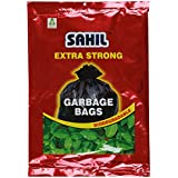 Sahil Extra Strong 30 L Garbage Bag (Black) (30 Pieces)