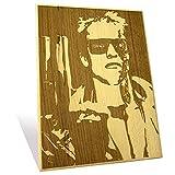 Arnold Schwarzenegger Plaque Large