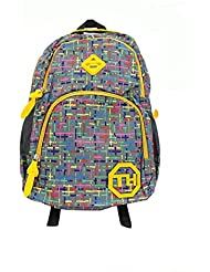 Shopaholic Amazing Video Game Patterned Multicolored School Bag For Teenagers - 3 (Color May Vary)