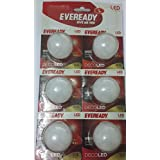 Eveready Led Deco Bulb 0.5w (Red) Pack Of 6 Pcs (RED)