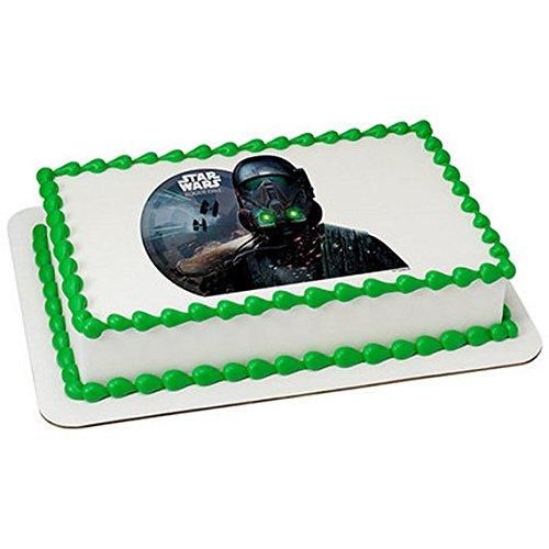 1/8 Sheet - Star Wars Rogue One Licensed Birthday - Edible Cake/Cupcake Party Topper!!!