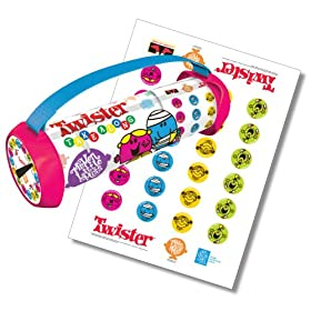 Click to buy portable Mister Men and Little Miss Twister party game!