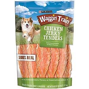 Amazon.com : Waggin Train Chicken Jerky Dog Treats, 36 oz