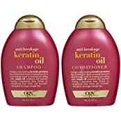 Ogx Anti Breakage Keratin Oil Shampoo & Conditioner (13 Ounces)
