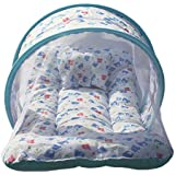 Nagar International Toddler Mattress With Mosquito Net Teddy (Blue) - NT-01-BLUE-BEAR For New Born Baby 0-6 Months...