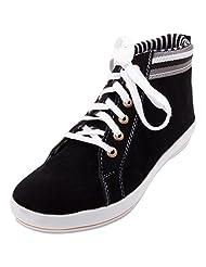 FBT Men's 10350 Black Casual Shoes