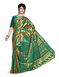 Kanchipuram Art Silk Saree(D.no-61-Rama)