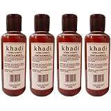 Khadi Herbal Honey & Almond Oil Shampoo 840 Ml Pack Of 4