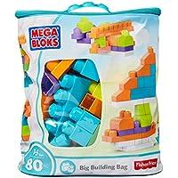 Mega Bloks First Builders Big Building Bag, 80-Piece (Trendy)