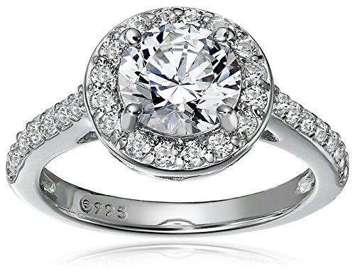 Top 10 best swarovski zirconia ring halo